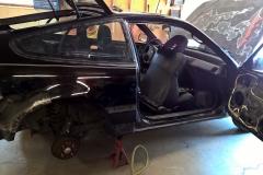 Before Removing the Passenger Side Quarter Panel