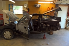 Driver's Side Quarter Panel Installation