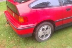 Potential CRX #1 - Passenger Rear Wheel